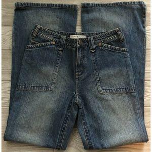 Tommy Hilfiger Women's Hipster Boot Wide Leg Sz 4